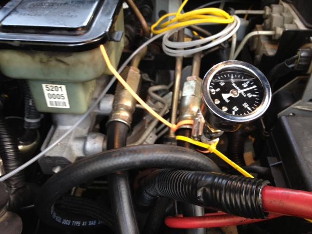 Marshall Fuel Pressure Gauge